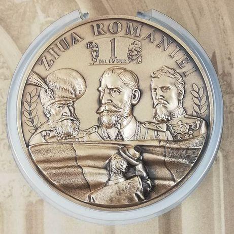 Medalie Mare Unire Centenar 1 Decembrie Ferdinand Stefan Cuza Decebal