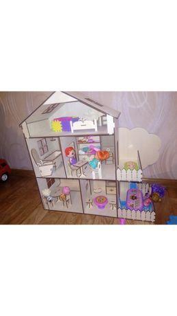 Кукольный домик Подарок к Новому году