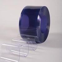 Lamele din PVC transparent pentru perdele industriale, 200 x 2mm x 50m