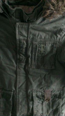 Детская куртка на мальчика(тёплая зима Mothercare, на 5-6 лет, рост122