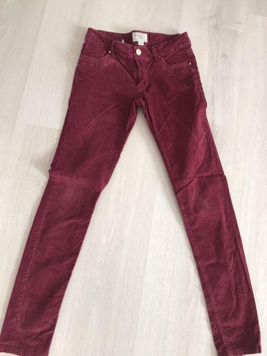 Pantaloni Massimo Dutti fete