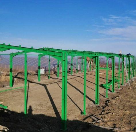 Vând hală metalica pentru depozite de materale in constructii