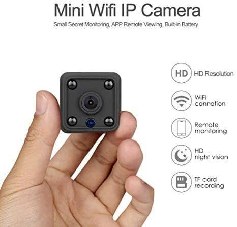 Mini Camera HD 1080P WiFi Camera Built-in Battery Night Vision Invi