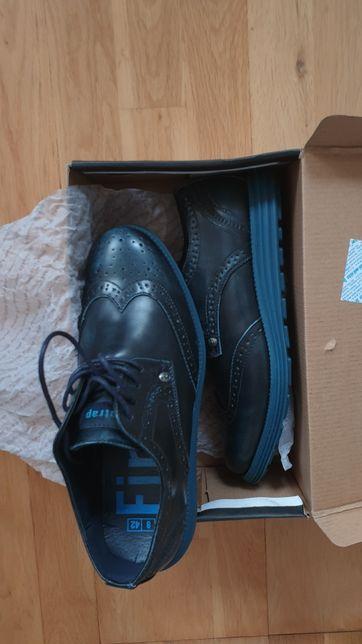 Pantofi piele ecologica Firetrap