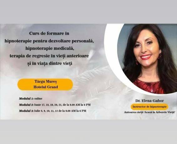 Curs de formare in hipnoza ,hipnoterapie medicala, terapie de regresie