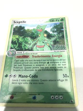 Sceptile pokemon card