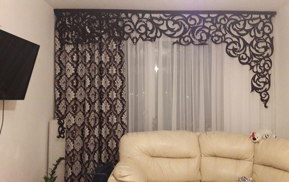 шторы ламбрекены