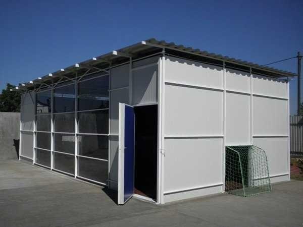 Casa, containere modulare tip birou si garaje auto din panou sandwich