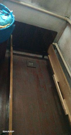 продам советскую деревянную кровать состояние 4