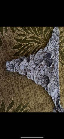 луксозни монокини плаж/прашки  къдрички млечно лилави топхит М/Л Л ХЛ