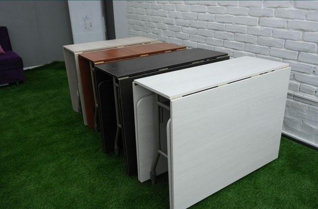 Стол трансформер, стол книжка, стол тумба, кухонный стол, офисные стол