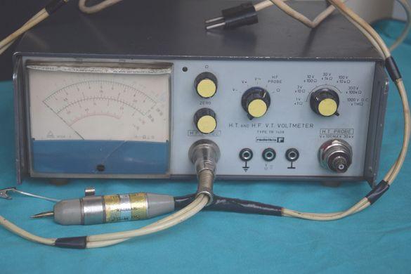 Лампов волтметер - H.T. and H.F. V.T. voltmeter type TR 1408