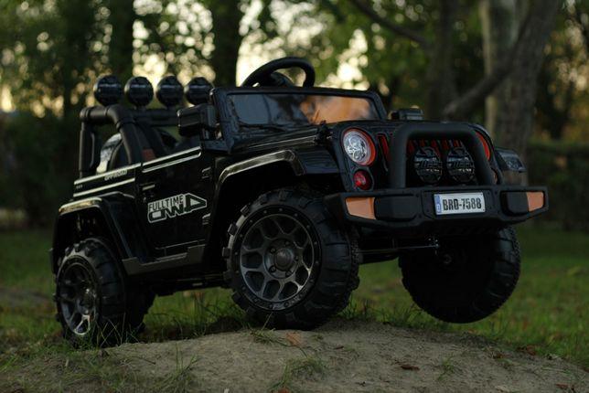Masinuta electrică pentru copii Jeep BRD-7588 70W 12V #Black