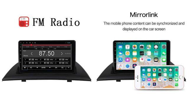 Navigatie BMW X3 E83, Android, Internet, GPS, Bluetooth, Model X326