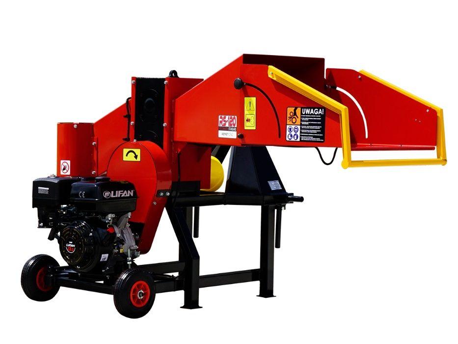 Tocator crengi hybrid cu actionare motor sau tractor