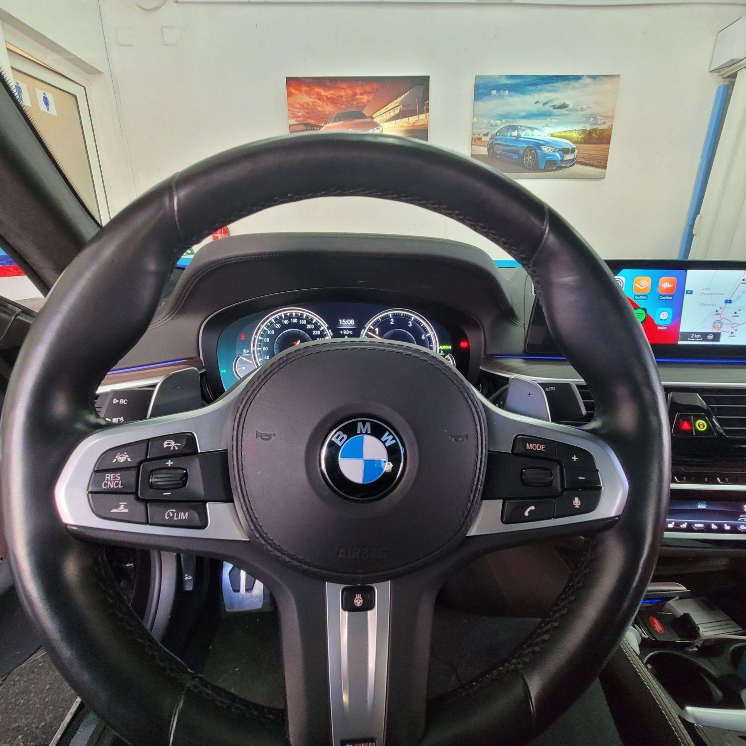Отключване Apple CarPlay BMW G11 G12 G30 G31 F10 F15 F30 F16 X3 X5 X6