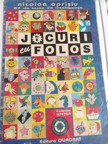 """Revista veche """"Jocuri cu Folos"""" Nr. 2 Nicolae Oprisiu"""