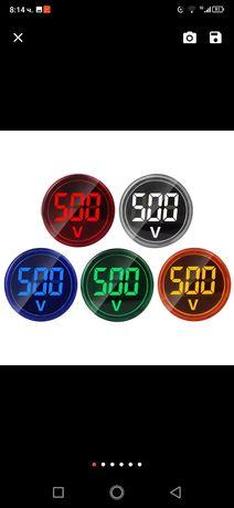 Дигитален волтметър 60 до500v