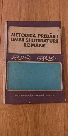 Vand carte Metodica predarii limbii si literaturii romane