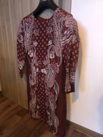 Rochie de zi de mătase