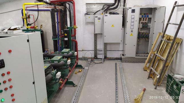 Холодильные камеры, установка холодильных камер