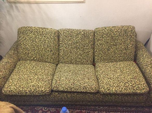Холна Гарнитура, диван, 2 фотьойла, 2 табуретки, мека мебел, 99 лв