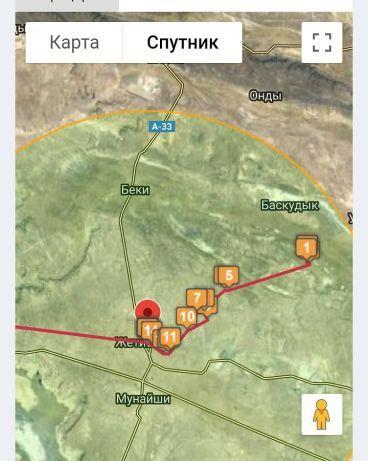 6 айға батарейкасы қуаты жететін спутниковый GPS