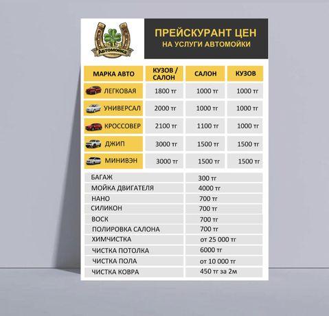 Визитки, логотип , прайс лист и др