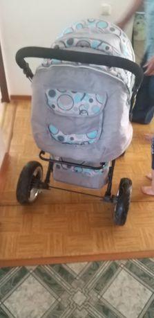 Продам коляску почти новый не пользовались толку