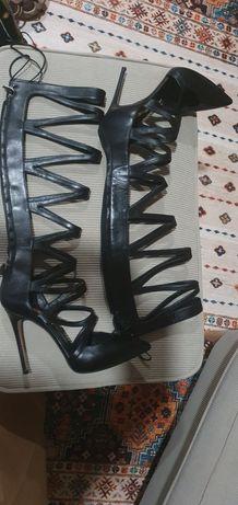 Vand cizme inalte cu toc Casadei Cage/Gladiator