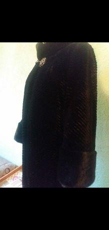 Шуба Мутон, 50 размер