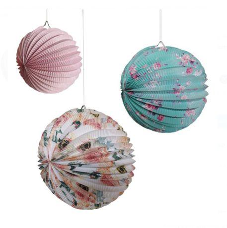 Decoratiune Glob suspendat - set / 3 buc