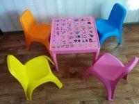 Детски масички с азбука и столчета от Алеана Пласт
