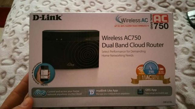 Router wireless d-link ac750 dual band dir-810l