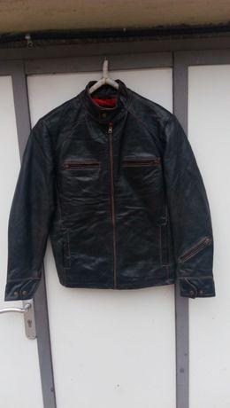 ''TDK''оригинално мъжко мото кожено яке Л размер
