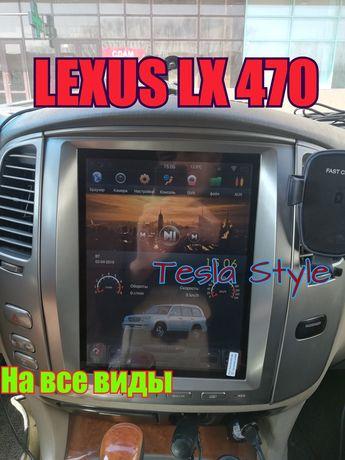 Тесла Lexus LX 570 470 Лексус Toyota Тойота Tesla Style 100 200