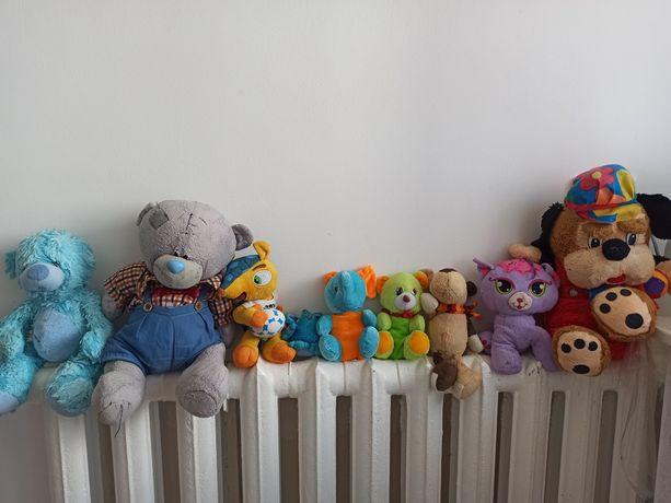 Мягкие игрушки 9 штук