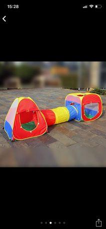 Палатки детские домики с тунелем