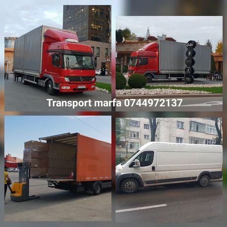 Transport marfa TIR Mutări Relocari Debarasari iasi Ofer manipulanti