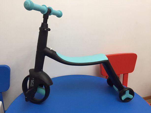 Беговел-самокат-велосипед