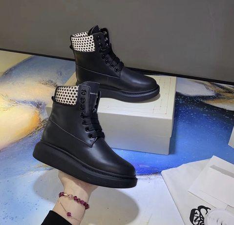 Зимние ботинки Alexander McQueen