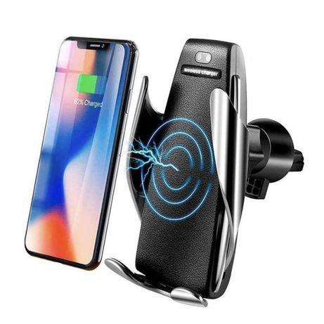 Suport telefon auto cu incarcare wireless nou