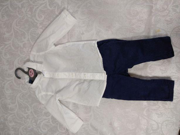 Set pantaloni și cămașă H&M 68