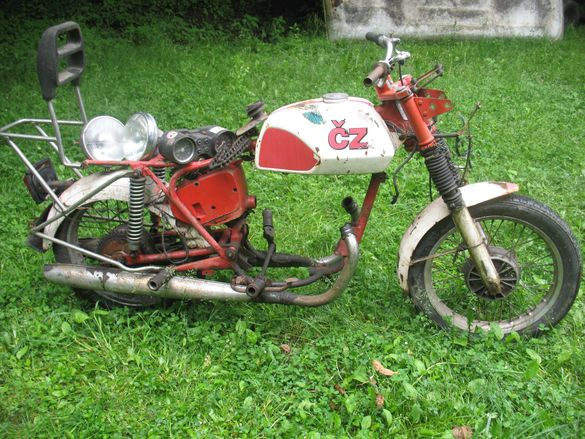 CZ 350/ ЧЗ 350 , модел на  мотоциклета