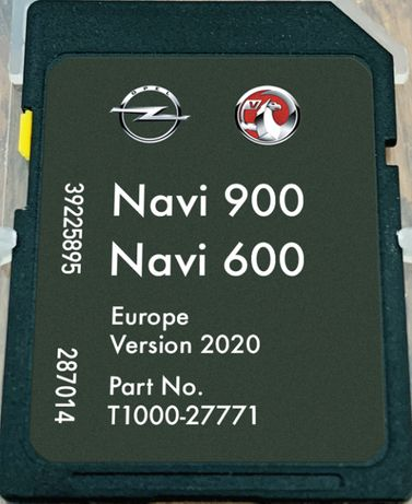 Opel Vauxhall Chevrolet NAVI 900/600 sd card Навигация 2020гд сд карта