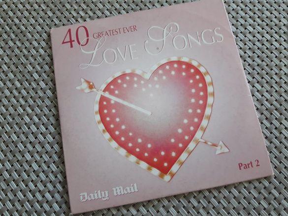 компакт диск с най- добрите любовни песни