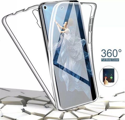 Huawei Nova 5T / P SMART 2021 Husa 360 Fata Spate Plastic Transparenta