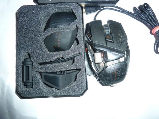 Mouse Mad Catz R.A.T. 7, Gaming, 6400 DPI, Negru
