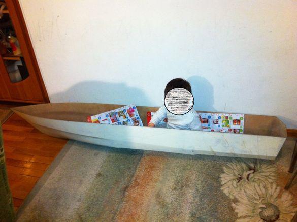 Корпус RC Лодка за модел на ракетоносец - професионален клас