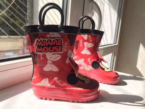 Детские резиновые сапоги Disney Minnie Mouse